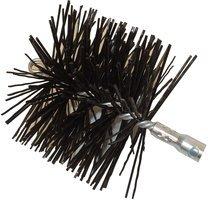 Rutland Round Professionals Choice Polypropylene Brush Head With Tlc Torque Lock Connector (5'' Diameter) by Rutland