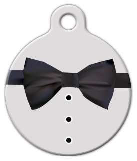 Dog Tag Art Custom Pet ID Tag for Dogs – Bond, James Bond – Large – 1.25 inch, My Pet Supplies