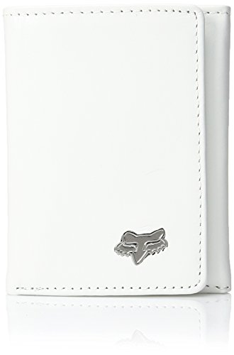 Trifold Men's Fox Leather White Wallet Leather Leather Fox Men's Trifold Fox Men's Wallet White qwr1zCqAPn