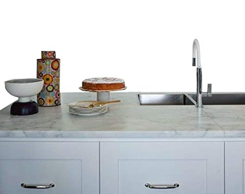 Countertop Paint? No Instant White Italian Marble Not Your Grandma's Contact Paper 36