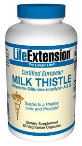 Certified European Milk Thistle 60 Vegicaps