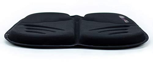 amiGO Travel Seat Cushion, Gel & Foam Portable Cushion, Folds in Half, Versatile Handle, Relieves Back Pain, Coccyx-Cutout by amiGO (Image #1)