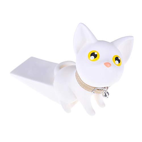 Sunsbell Home Decoration Safety Creative Wedge Doorstop Door Stops Cute Cartoon Cat Door Stopper Child Foot Shape Baby