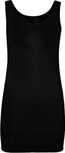 Catch One Clothing - Camiseta sin mangas - para mujer negro
