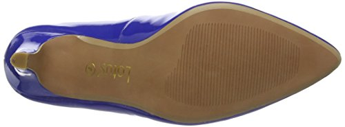 Lotus Blithe - Tacones Mujer Azul - Blue (Electric Blue Shiny)