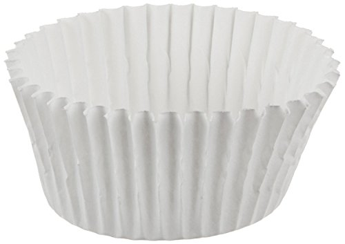 Cybrtrayd No.3 Paper Candy Cups, White, Box of 25000