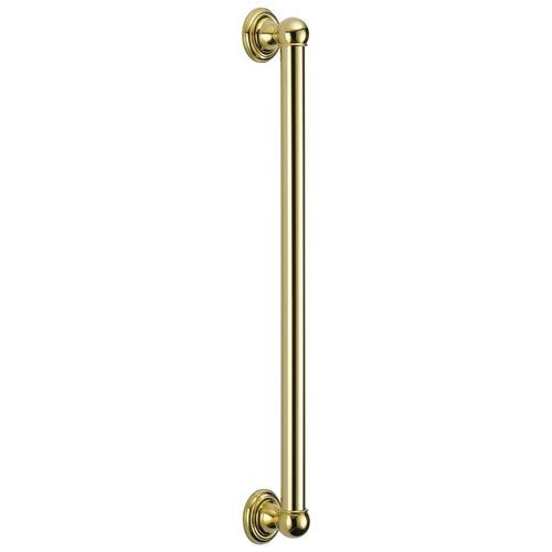 Delta Faucet 40024-PB ADA Grab Bar, Polished Brass