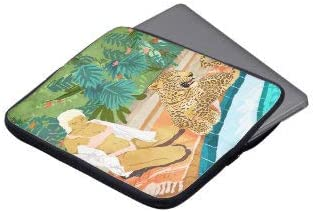 The Wild Side Laptop Sleeve Bag Notebook Computer PC Neoprene Protection Zipper Case Cover 13 Inch