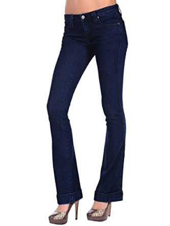 Frankie B. Womens Scribble F Famous Bootcut Jean - Cold River Wash - 30