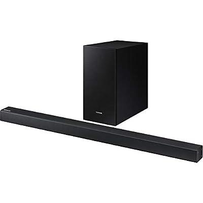Samsung HW-R430 2 1-Channel Soundbar  Black  with Wireless Subwoofer