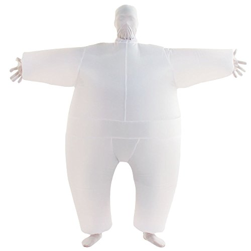 VOCOO Lnflatable Costumes Adult Size Inflatable Body Suits Pants (white)]()