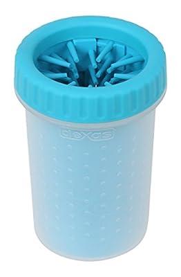 Dexas Petware MudBuster Portable Dog Paw Cleaner, Medium, Blue