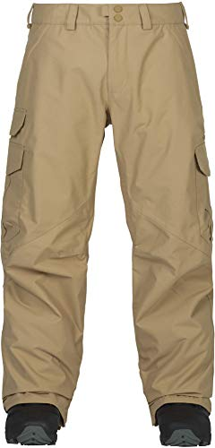 Burton Men's Cargo Snow Pant Regular Fit , Kelp W19, Large (Khaki Snowboard Pants)