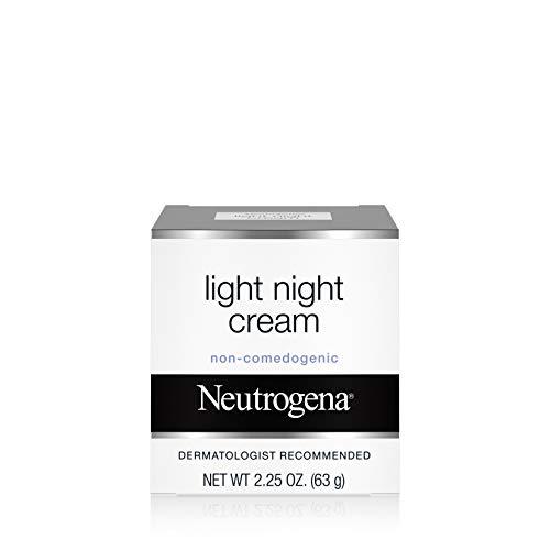Neutrogena Light Facial Night Cream, 2.25 Oz. (Night Cream Hypoallergenic)
