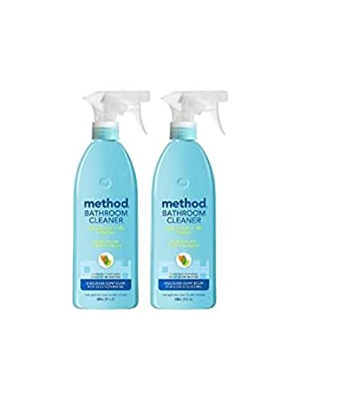 Amazoncom Method Natural Tub Tile Bathroom Cleaner Eucalyptus - Method bathroom cleaner ingredients