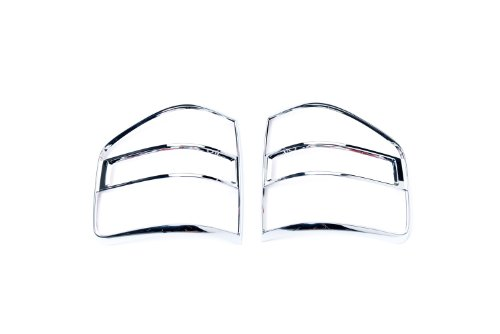 F150 Tail Light Covers (Putco 401807 Chrome Trim Tail Light Cover)
