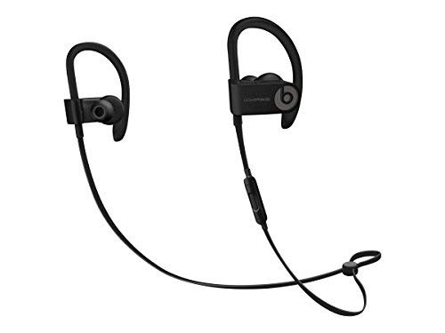 Beats by Dr. Dre Powerbeats3 ML8V2LL/A Wireless Earphones With Mic - Black (Refurbished) from Beats