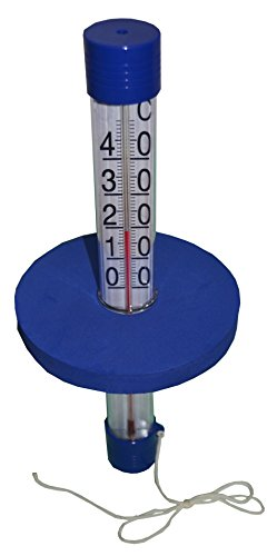 well2wellness® Poolthermometer / Schwimmbad Thermometer Badeboje
