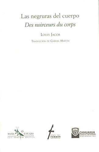 Des noirceurs du corps Louis Jacob
