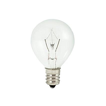 Bulbrite Kr15g11cl 15w Krystal Touch G11 Globe Chandelier Bulb