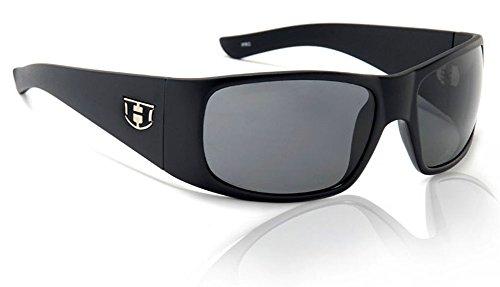 Hoven Ritz 16-0102 Polarized Wrap Sunglasses, Black Gloss,69 - Polarized Hoven Sunglasses