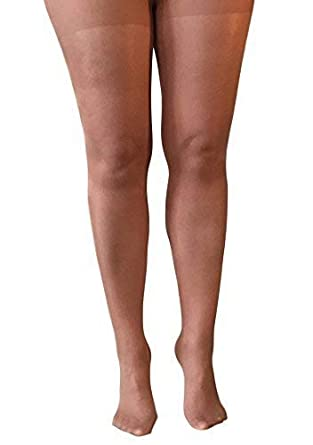 84f780345 Essexee Legs Women s Plus Size Glossy Tights. EL149. 15DEN.  Amazon ...
