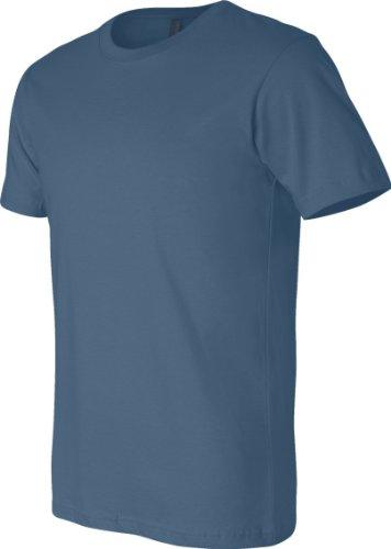 Bella Canvas BE3001-Camiseta de cuello redondo Steel Blue
