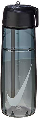 Squeeze T1 Flow Water Bottle, 709Ml, Preto/Cinza