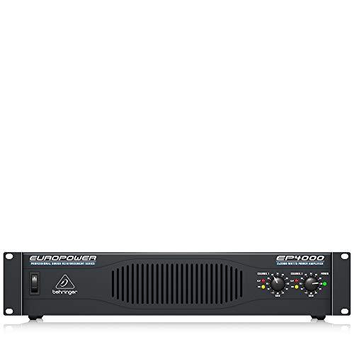 Behringer Europower EP4000 Professional 4,000-Watt Stereo Power Amplifier (Amplifier 4000 Watts)