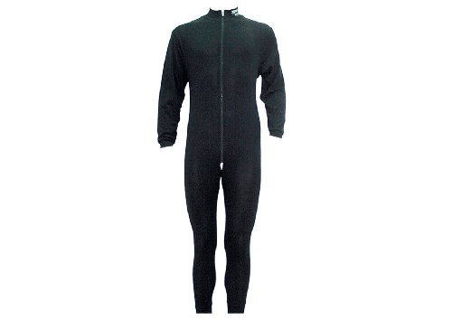 SHER-WOOD - Erwachsenen-Einteiler mit Reisverschluss für Männer I Langarm-Unterwäsche I ideal zum unterziehen bei Kälte I Eishockey & Motorrad-Unterwäsche I warme Unterwäsche für Herren,
