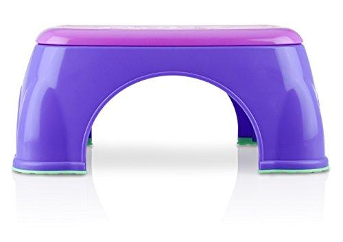 Nuby Step Stool, Pink/Purple