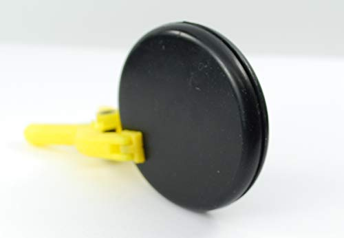 Rubber Hole Plug for 2'' Opening - for 1/16'' Thick Panel -''Grommet Without A Hole'' - Solid Flush Plug - Seals Opening in Metal Panels - Provides Finished Appearance on Both Sides of Panel (24) by Generic (Image #4)