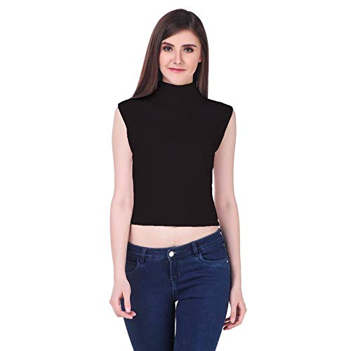 best site lowest price shop Clo Clu Black Tops for Womens,Sleeveless Tops for Women ...