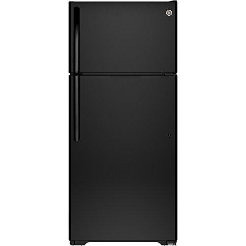 Ge Black Top Freezer Refrigerator - 1