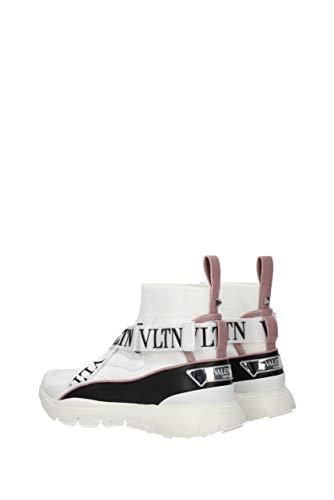 Donna Sneakers s0h51xpy Tessuto Valentino Eu Bianco Garavani qZnO1Exwg
