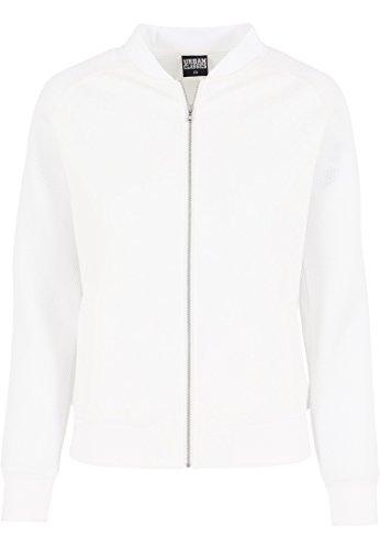 Urban Classics Jacke Scuba Raglan Mesh Jacket-Chaqueta Mujer offwhite