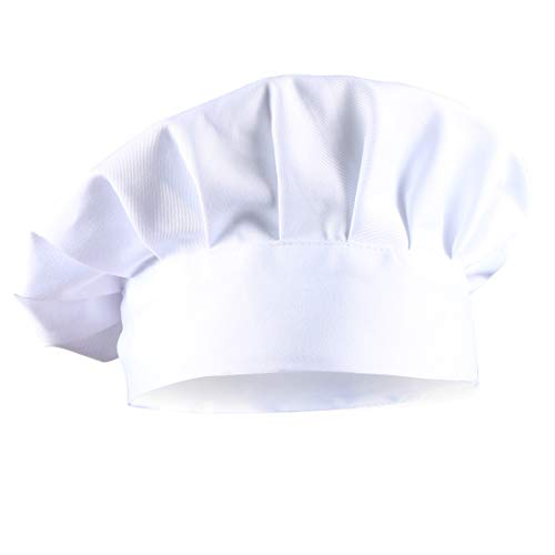 Dadoudou® Chef Hat Tube Sharp with Adjustable Size for Adult/Kids]()