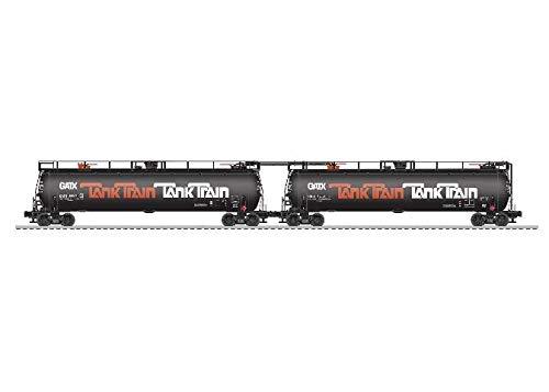 Tank Train 2PK W/EOT Orange by Lionel (Image #1)