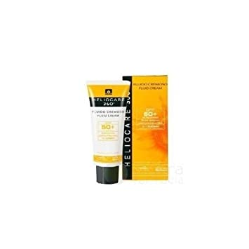 Amazon.com: NEW HELIOCARE 360 FLUID CREAM SPF50+ 50ml Shipping Ship ...