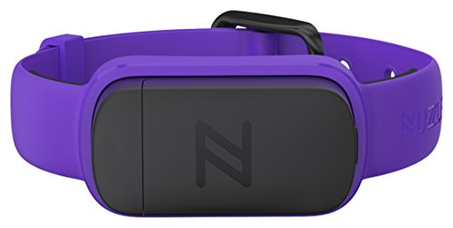 Nuzzle Pet Activity and GPS Tracker, Purple, 5/8'' Width Collar by Nuzzle