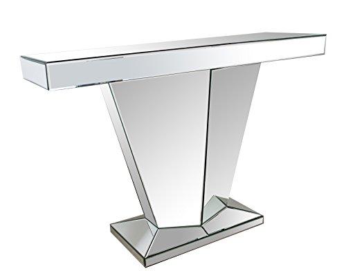 Abbyson Living Faith Mirror Sofa Table, Silver by Abbyson®