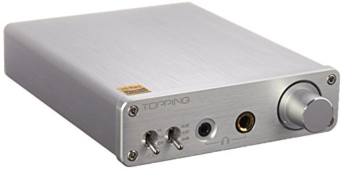 Topping A30 HiFi Headphone Amplifier (A30 Silver)