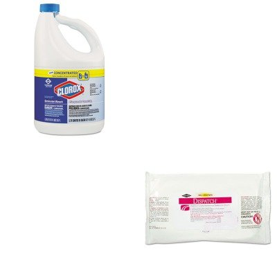 KITCOX30966CTCOX69240 - Value Kit - Clorox Disinfectant Towels with Bleach (COX69240) and Clorox Germicidal Bleach (COX30966CT) by Clorox