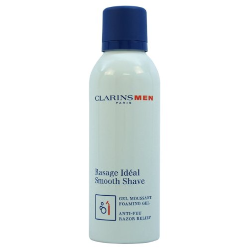 Clarins Smooth Shave Foaming Gel for Men, 5.25 Ounce