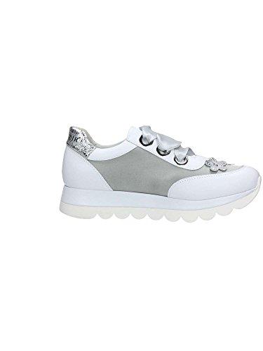 CAFe DB132 Bianco Zapatillas Mujer NOIR vrU5qv