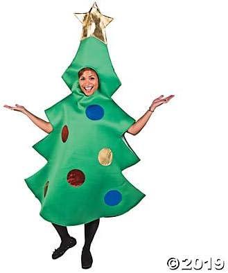 Amazon.com: Disfraz de árbol de Navidad para adultos ...