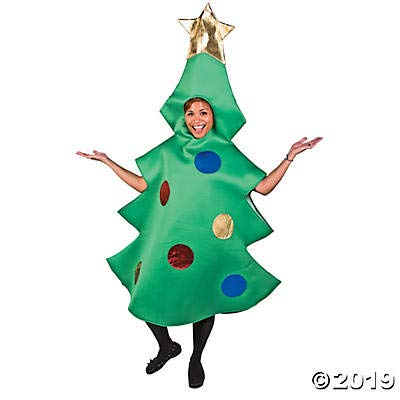 Christmas Costumes Adults (Adult Christmas Tree Costume - Perfect for Halloween and Holiday)