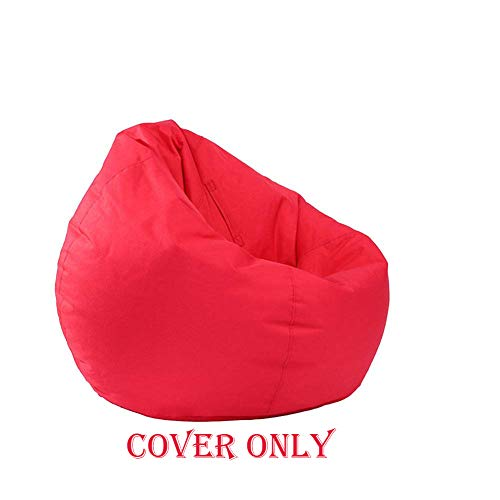 Zervatek Waterproof Bean Bag Cover Chair Storage Bean Bag Oxford Chair Cover,Teens and Adults Lounger Sack