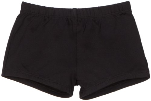 Danskin Big Girls' Boy Cut Short, Black, Intermediate (Child Cut Boy Short)