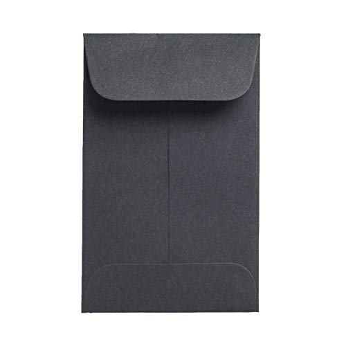 Black Paper Coin Envelopes 250 Packs 2.25X3.25 for Concentrate Shatter